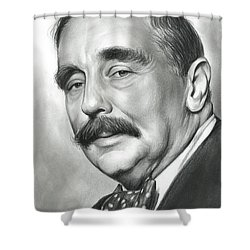 H.g. Wells Shower Curtain