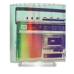 Hi-fi Pop Shower Curtain
