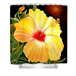 Hibiscus Glory Shower Curtain