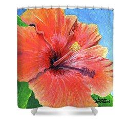 Hibiscus Passion Shower Curtain