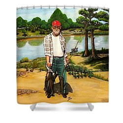 Hickie Shower Curtain