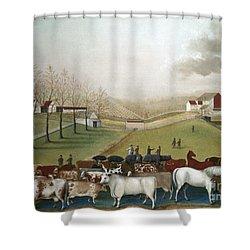 Hicks: Cornell Farm, 1848 Shower Curtain by Granger