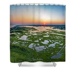 Hidden Beauty Pano Shower Curtain