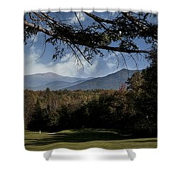 Hidden Door Shower Curtain by Deborah Klubertanz