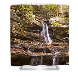 Hidden Falls Of Danbury, Nc Shower Curtain