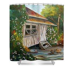 Hidden Garden Shower Curtain