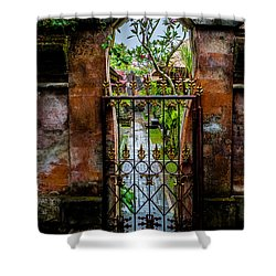 Bali Gate Shower Curtain