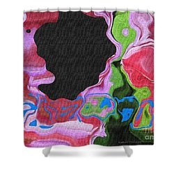 Hidden Meanings Shower Curtain by Kathie Chicoine