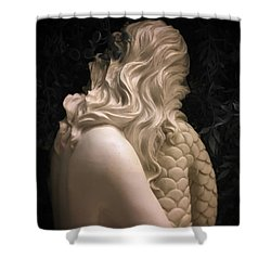 Hidden Mermaid Shower Curtain