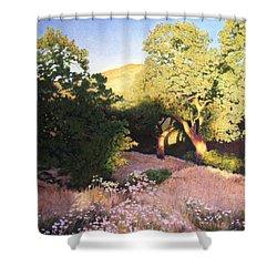 Hidden Oaks Shower Curtain