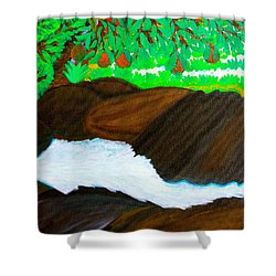 Hidden Paradise Shower Curtain