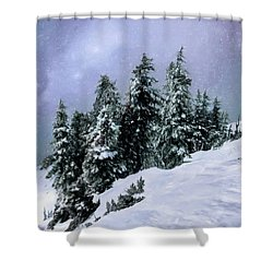 Hidden Peak Shower Curtain