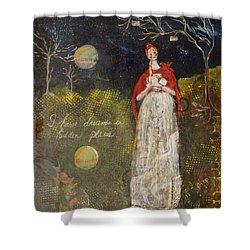 Hidden Places Shower Curtain