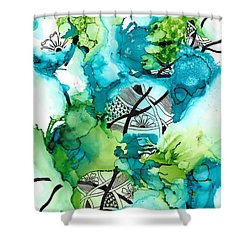 Hidden Treasure Shower Curtain by Jan Steinle