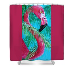Shower Curtain featuring the painting Hidden Treasure by Susan DeLain
