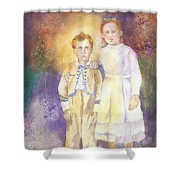 Hidden Treasures Shower Curtain by Tara Moorman