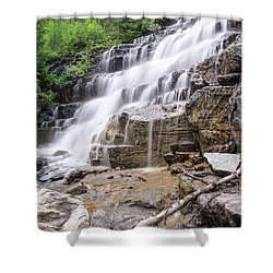 Hidden Waterfalls Shower Curtain