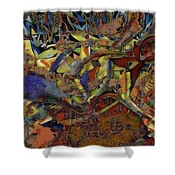 Hidden Wonders Shower Curtain