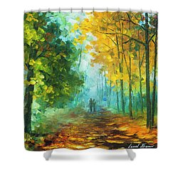Hide And Seek  Shower Curtain by Leonid Afremov