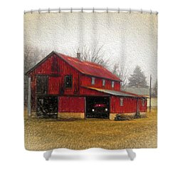 Hide Away Shower Curtain