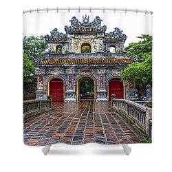 Hien Nhon Gate, Citadel, Hue,vietnam Shower Curtain
