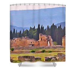 Hierapolis Shower Curtain