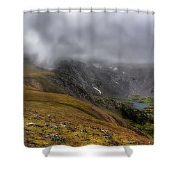 High Country Adventure Shower Curtain