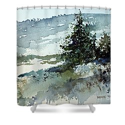High Country Shower Curtain by Monte Toon