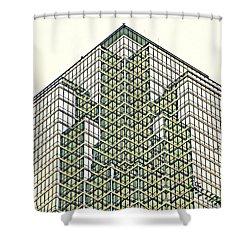 Downtown Dallas Shower Curtain