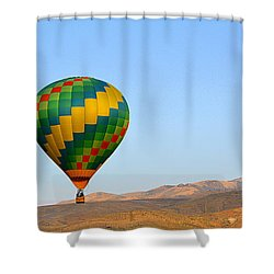 Shower Curtain featuring the photograph High Desert Morning by AJ Schibig