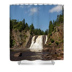 High Falls At Tettegouche State Park Shower Curtain