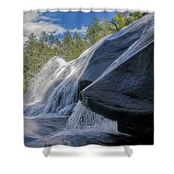 High Falls One Shower Curtain