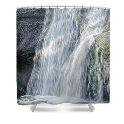 High Falls Three Shower Curtain
