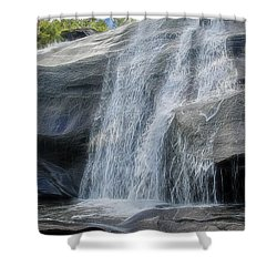 High Falls Two Shower Curtain