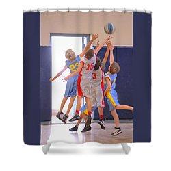 High Fives Shower Curtain