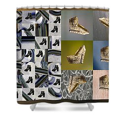High Heel Study Shower Curtain