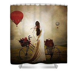 High Hopes Shower Curtain