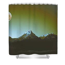 High Peak 5 Shower Curtain