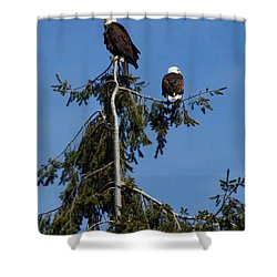 High Perch Shower Curtain