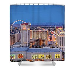 High Roller - Night Shower Curtain