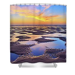 High Tide Impressions Shower Curtain