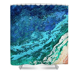 High Tide Shower Curtain