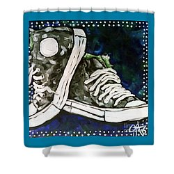 High Top Heaven Shower Curtain by Jackie Carpenter