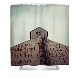 Shower Curtain featuring the photograph High View by Trish Mistric