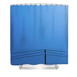 High Voltage Power, Electric Pose Shower Curtain