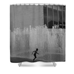 High Water Shower Curtain