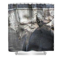 High Water Mark Rock Art By Kaylyn Franks Shower Curtain