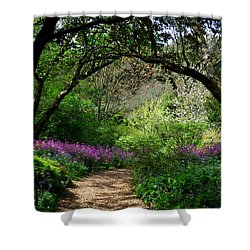 Highdown Gardens2 Shower Curtain