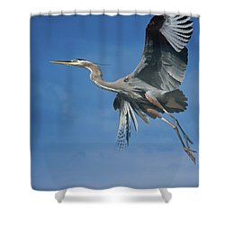Higher Places Shower Curtain