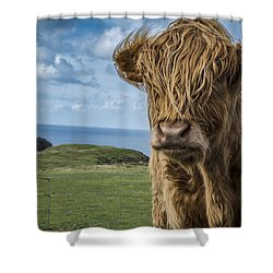 Redhead Beauty Shower Curtain